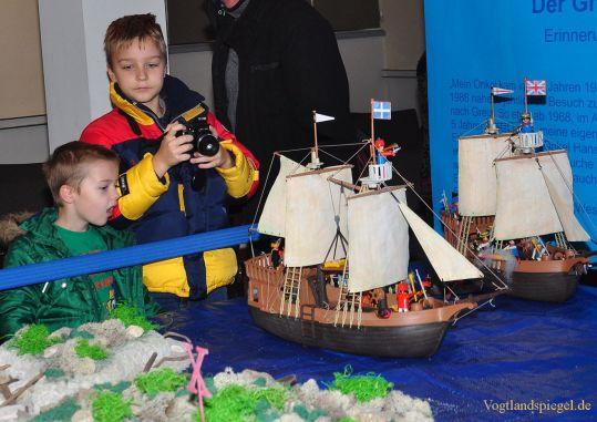 Playmobil-Ausstellung in beiden Greizer Schlössern zu sehen