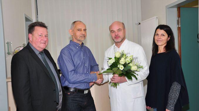 Dr. med. Gerhard Heimrich herzlich verabschiedet