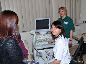 Gyöngyvér Ferencz nimmt Arbeit in kardiologischer Praxis des MVZ auf