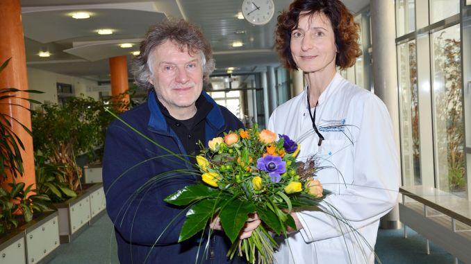 Plauener Künstler Andreas Claviez stellt in der Magistrale des Kreiskrankenhauses Greiz aus