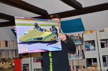 Kathrin Arnschek und Hendrik Klaus vom Sidecar-Racing infiziert