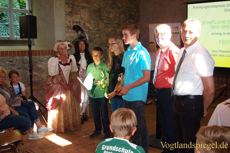Abschlussveranstaltung der Kreisjugendspiele des Landkreises Greiz 2016