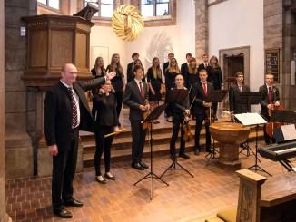 Greizer Jugendchor an St. Marien auf großer Fahrt