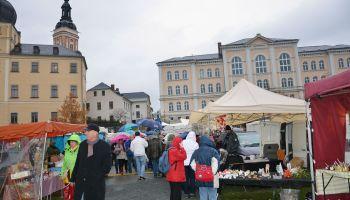 Großer Herbstmarkt: Auf die Sachsen ist Verlass