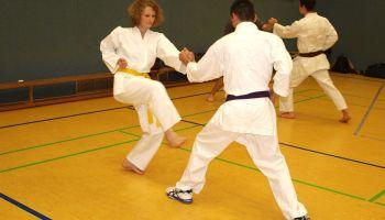 Aktionstag: Selbstverteidigung für Mädchen und Frauen beim 1. Greizer Karate Dojo