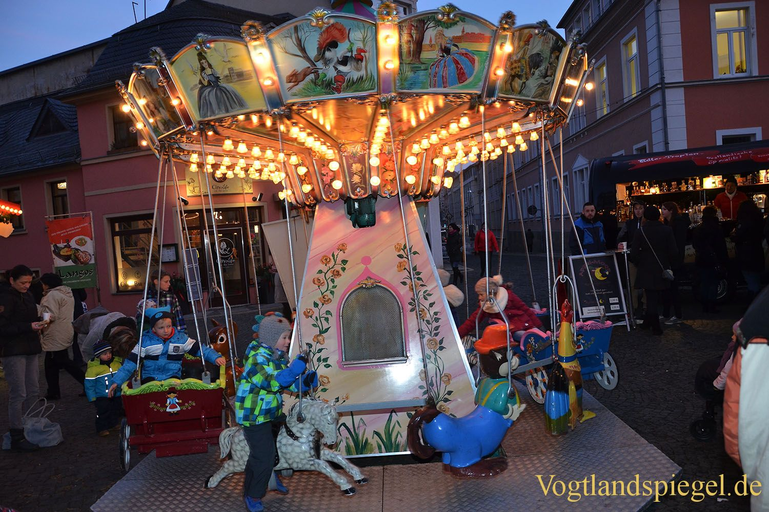 Greizer Weihnachtsmarkt offiziell eröffnet