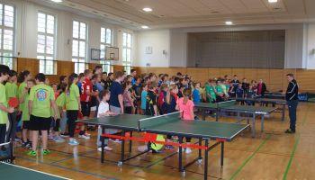 Tischtennis Kreisjugendspiele Greiz: Über 100 Spieler an den Platten