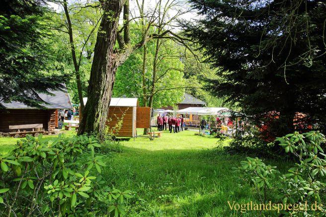 Waldhaus: Besucher strömen zum Tag des Waldes und der Jagd