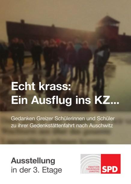 Lessingschule Greiz: Ausstellung in der SPD-Landtagsfraktion in Erfurt gestaltet