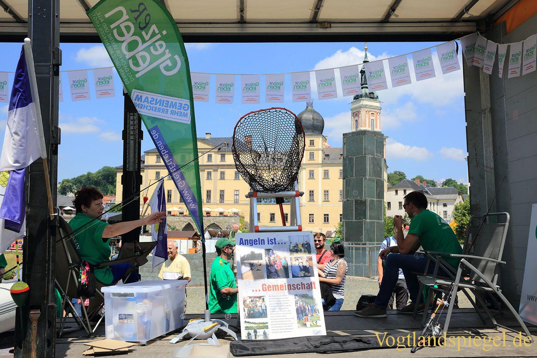 Festumzug als Höhepunkt des Park-und Schlossfestes 2017