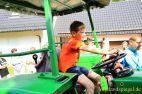 Traditionelles Traktorziehen beim Sommerfest in Nitschareuth