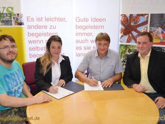 Zusammenarbeit: Kreissportbund und DRK-Kreisverband unterzeichnen Vereinbarung