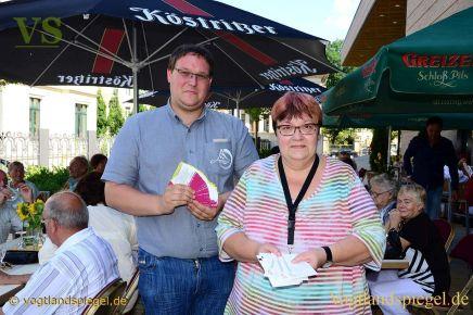 """Vogtlandhalle Greiz und Restaurant """"Zur Bühne"""" offerieren Dankeschön an die Besucher"""
