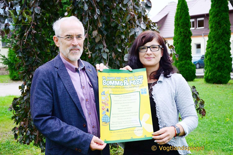 Jubiläum: Diakonieverein Carolinenfeld lädt zum 25. Sommerfest ein