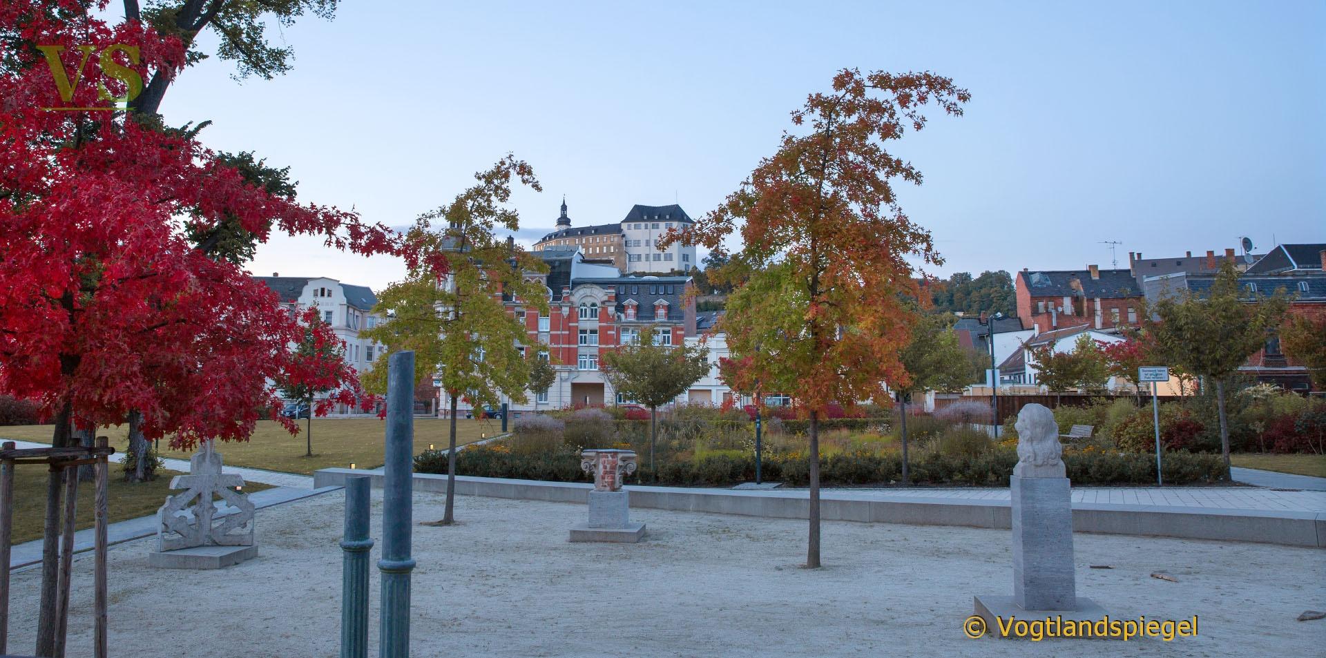 Lapidarium im Greizer Goethepark