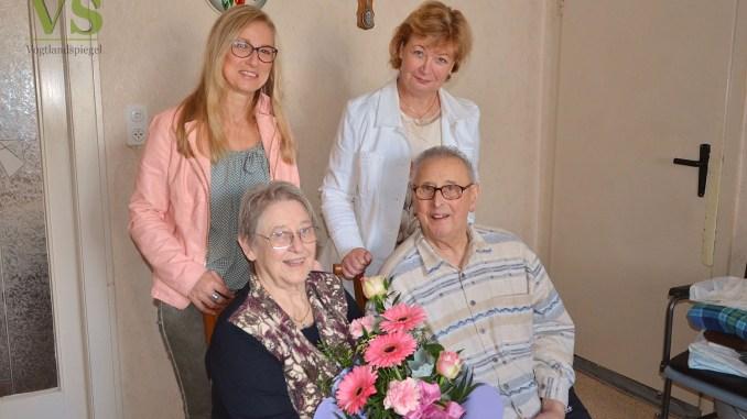 Helga und Friedemann Welz feiern Fest der Diamantenen Hochzeit
