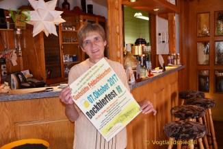 Gaststätte Feldschlößchen: Herzlich willkommen zum Bockbierfest