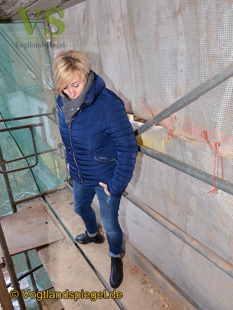 10aRium: Bei Baustellenbegehung Baufortschritte offeriert
