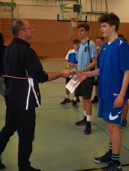 Greiz: Schulamtsfinale Ostthüringen Basketball der Jungen