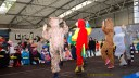 Am Freitagnachmittag wurde zum traditionellen Kindereisfasching auf die Eissportfläche der Stadt Greiz eingeladen