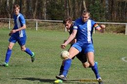 SV Blau-Weiß 90 Greiz: Alexander Hamann schießt das Siegtor