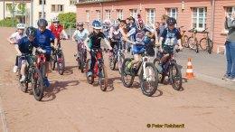Kreisjugendspiele 2018 des Landkreises Greiz ermittelten die Besten im Radsport