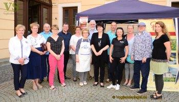 Ein Grund zum Feiern: 35 Jahre Tourist-Information Greiz