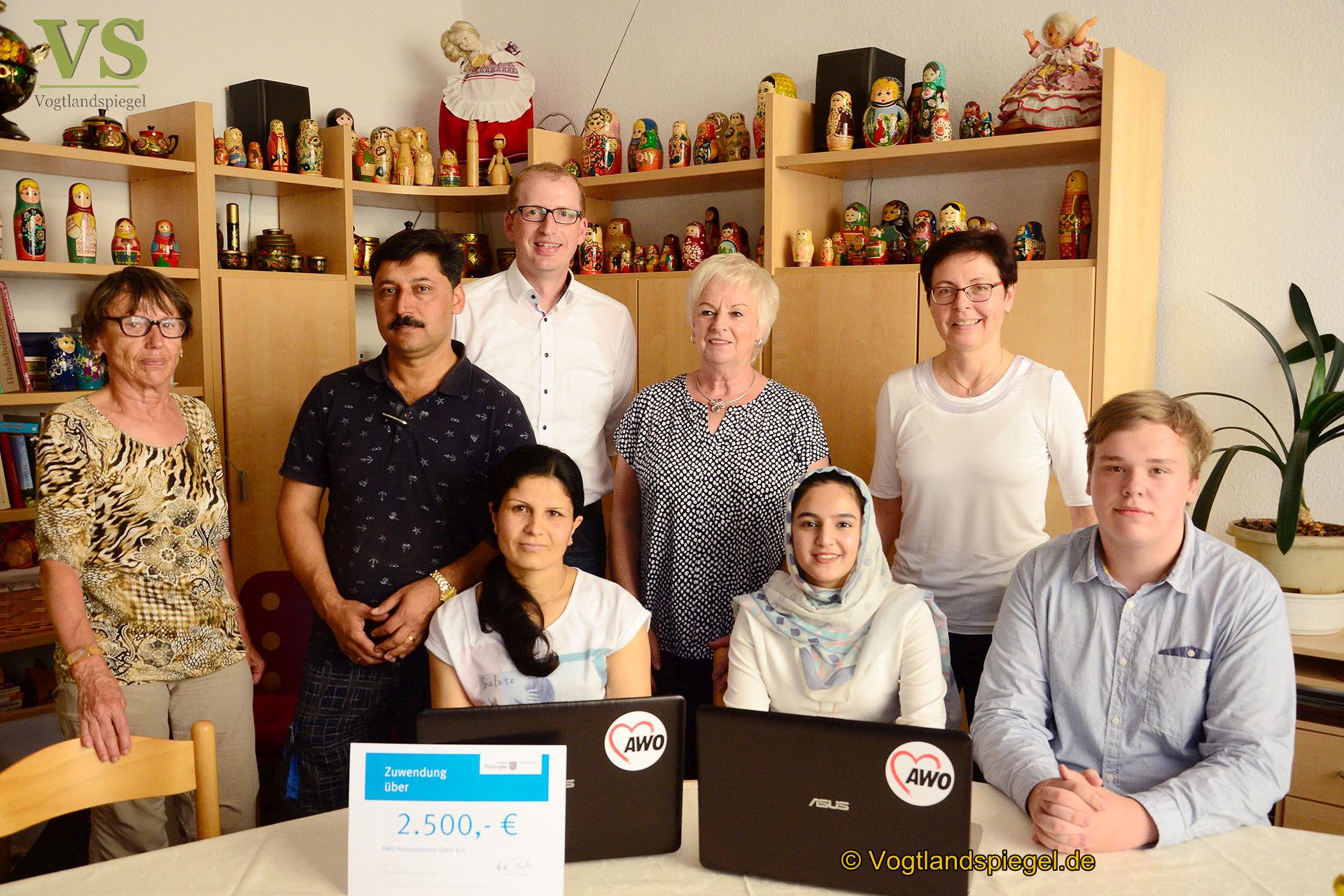 AWO Greiz: Mobiles Lernbüro kann kostenlos genutzt werden
