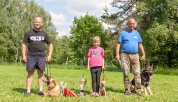 Hundesport: Team aus Greiz verteidigt Wanderpokal