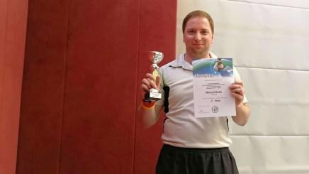 Tischtennis im VfB Greiz: Marcel Koth nimmt an den Deutschen Meisterschaften teil