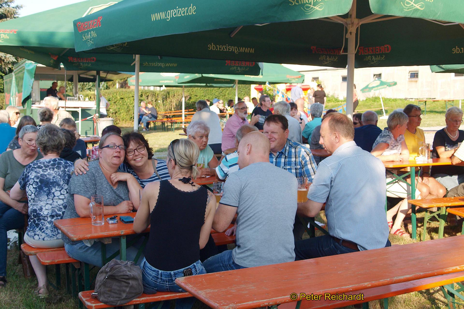 """Einhundertundeins - Das Motto beim Sommerfest der Kleingartenanlage """"Hermann Löns"""" Greiz"""