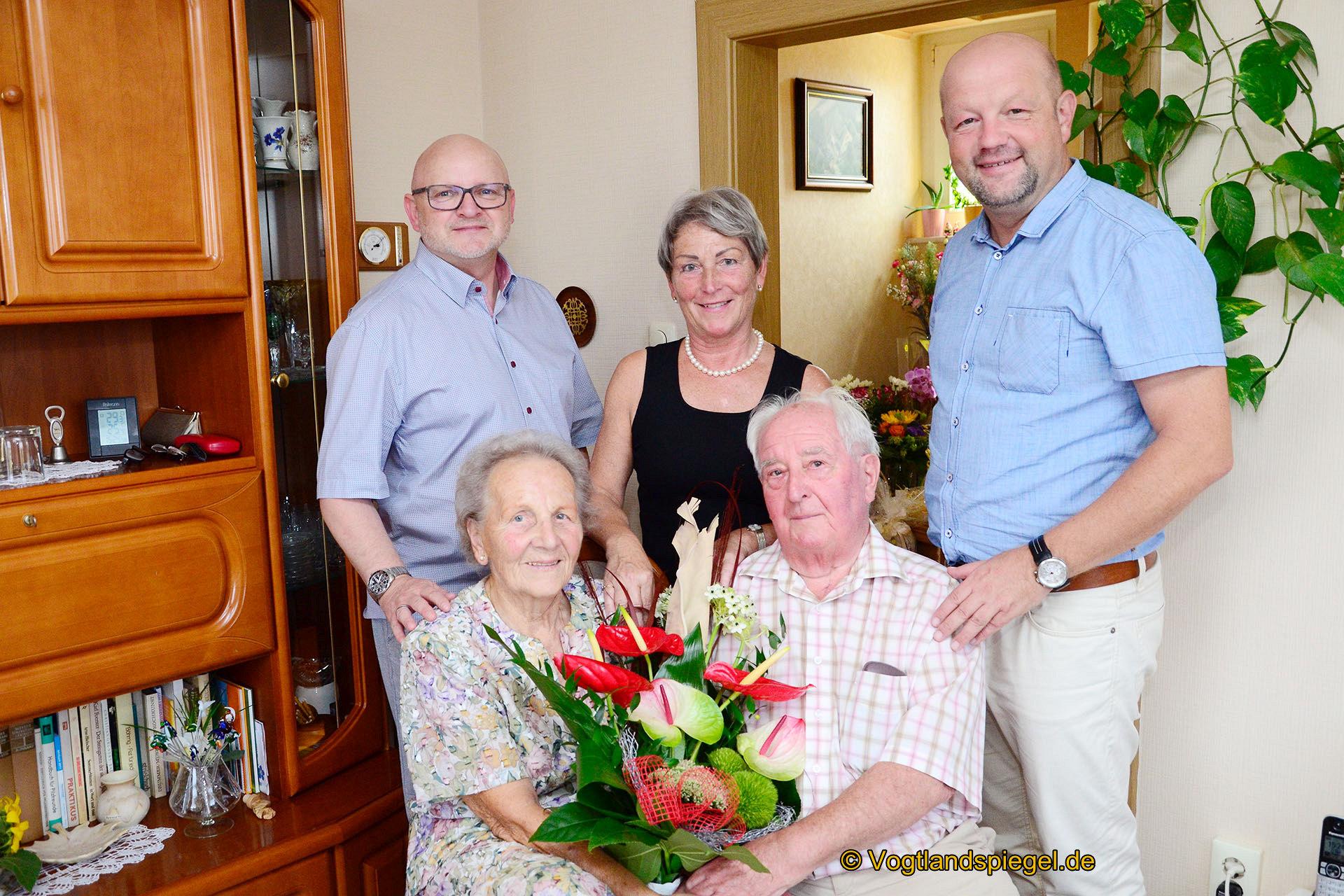 Gerhard und Ingeburg Zimmermann: Ein Leben in Zufriedenheit und gegenseitigem Vertrauen