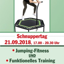 Flyer Fitness Jumping - Schnuppertag