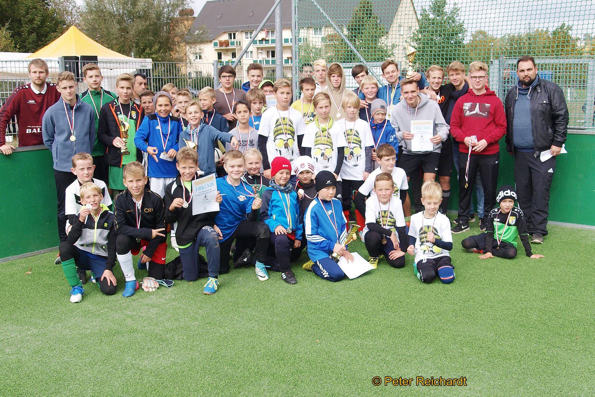 Fußballtradition im Greizer Neustadtfest wurde mit dem 15. Bolzplatzturnier fortgesetzt