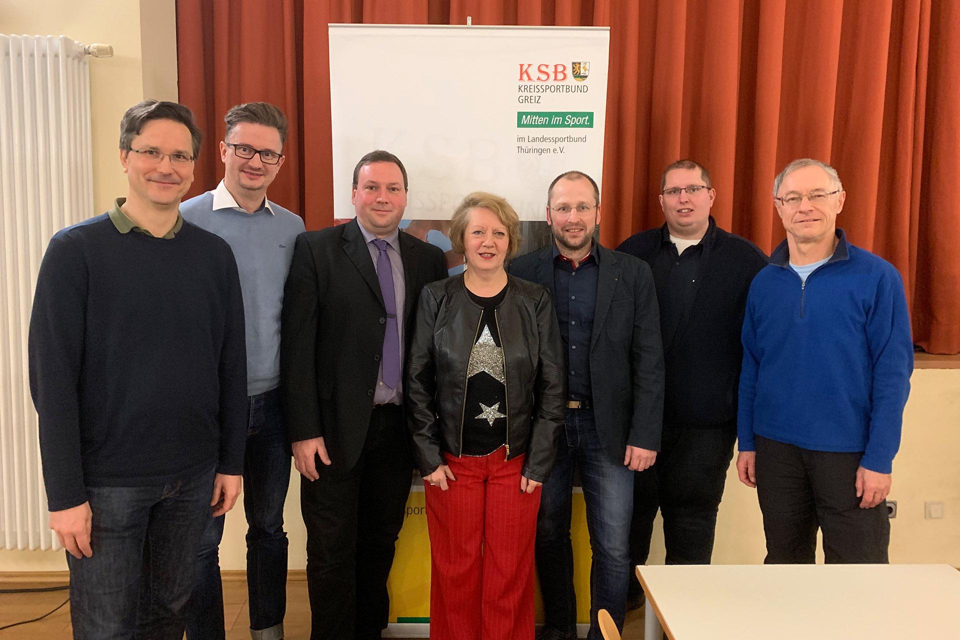 Jan Koschinsky wird neuer Vorsitzender des Kreissportbundes Greiz