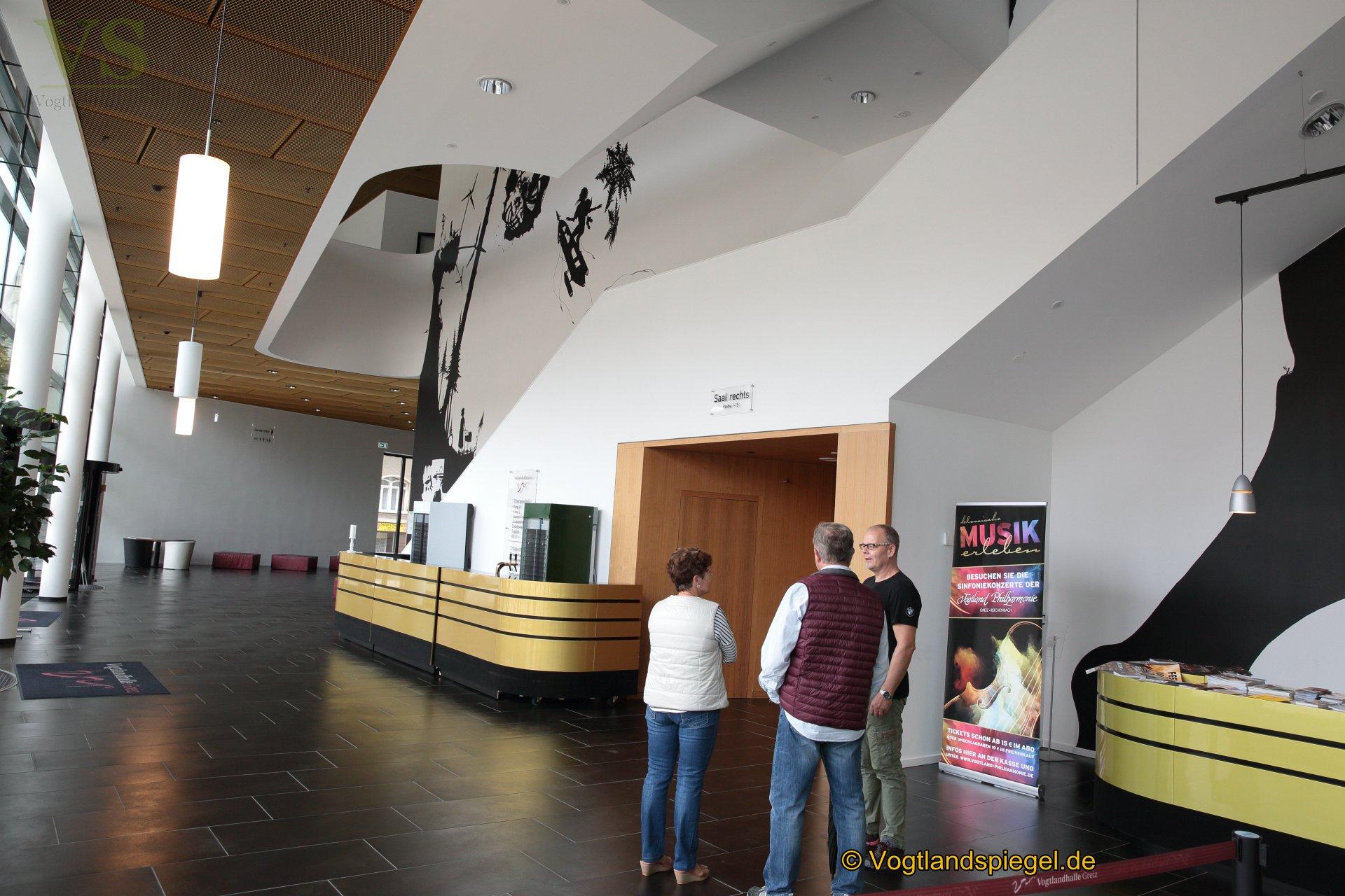 Vogtlandhalle Greiz: Auch Führungen zum Tag des offenen Denkmals