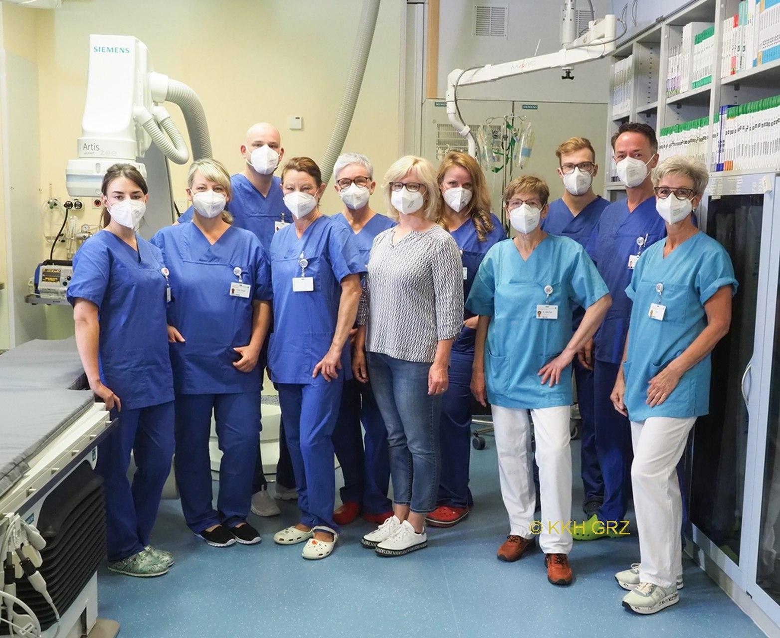 Neuer Herzkathetermessplatz im KKH Greiz
