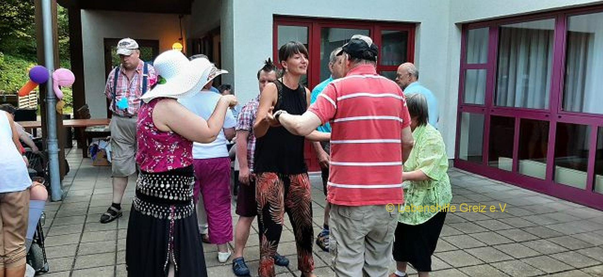 Sommerfest des Wohnhauses der Lebenshilfe Greiz