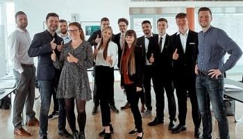 Sparkasse Gera-Greiz begrüßt neun Auszubildende