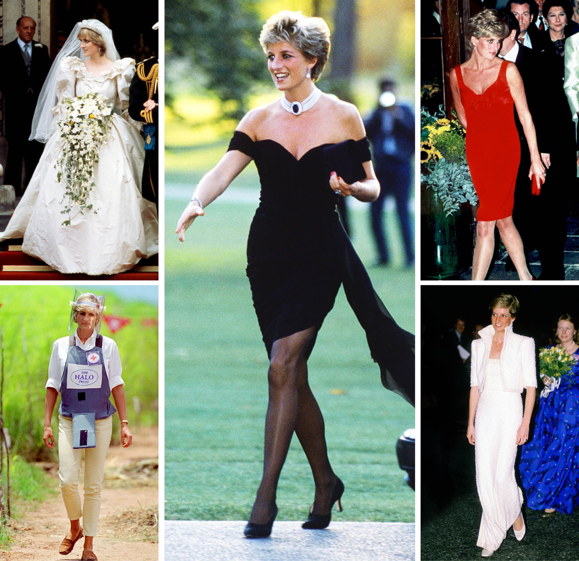 Princess Dianas Best Looks And Iconic Style Why Were