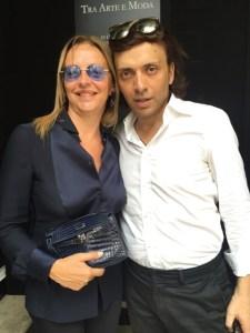Grazia Pitorri con Anton Giulio Grande