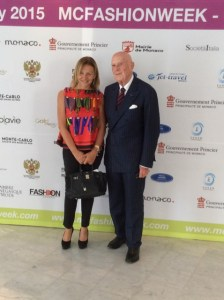 Grazia Pitorri con il Cavalier Boselli - PH Piero Daffonchio