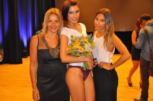 Grazia Pitorri con la vincitrice la nota Wedding Planner sanremese Francesca Coppola