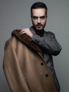 """Edoardo Alaimo in una foto di Elena Datrino che fa parte della mostra """" Facce da blogger"""""""