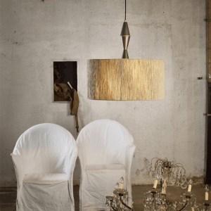 Viadurini - Lampada in cashmere