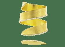 Stroili, Bracciale in metallo dorato e cristalli - nuova collezione primavera 2014