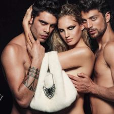 Simone Susinna, Irene Cioni e Stefano Sala insieme per la nuova campagna OY della stilista Stefania Ferretti
