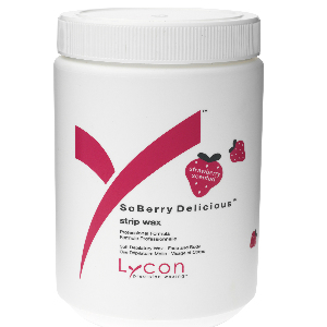 So Berry Delicious Strip Wax by Lycon - 800 ml