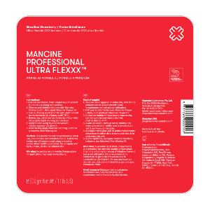 Mancine Ultra Flexxx Brazilian Strawberry Hard Wax - Vogue Beauty