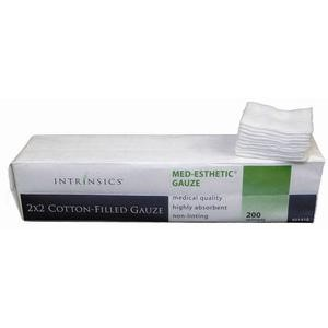Cotton Esthetic Wipes by Intrinsics  2x2 12-Ply Gauze